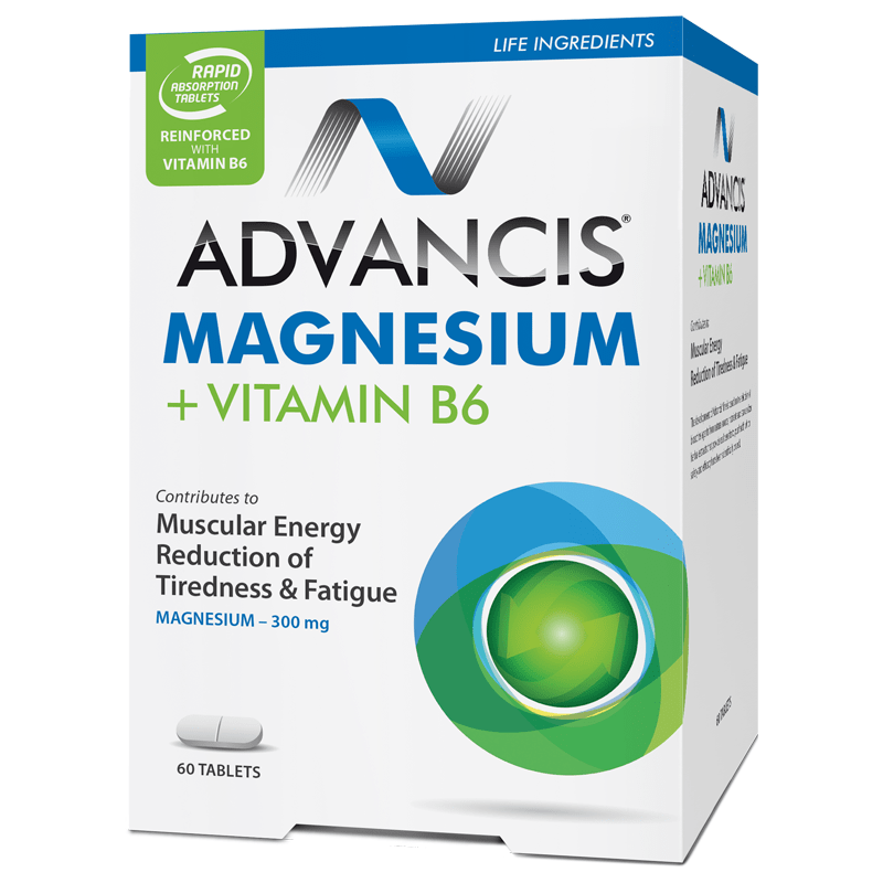 ADVANCIS MAGNESIUM+VITAMIN B6