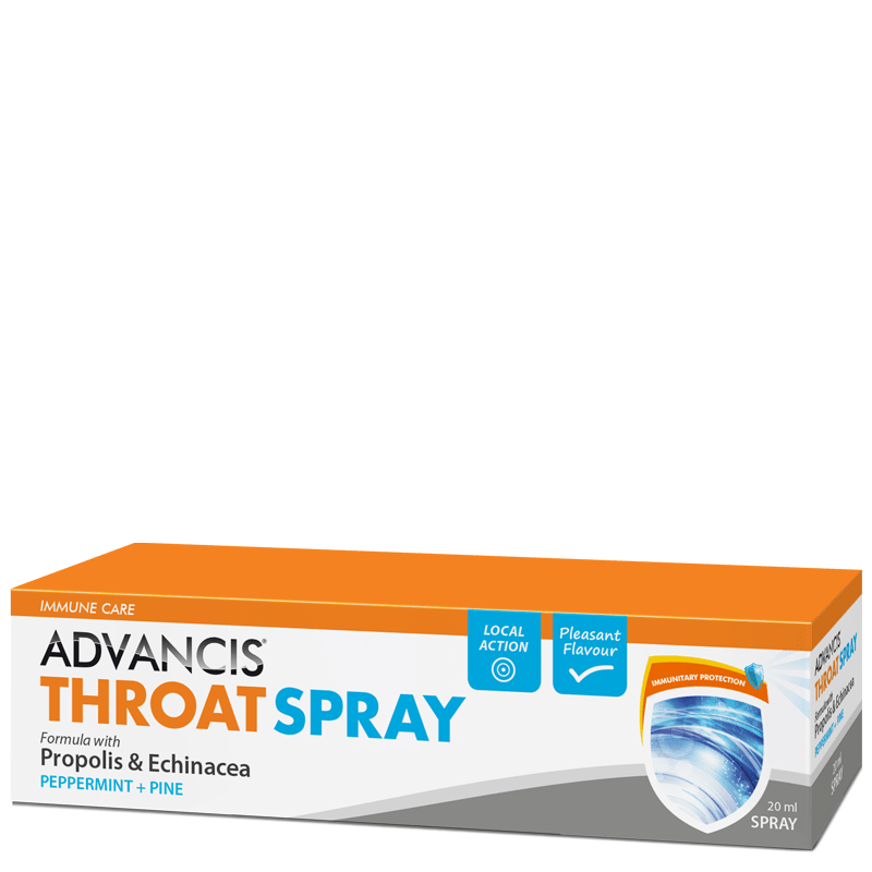 ADVANCIS THROAT SPRAY